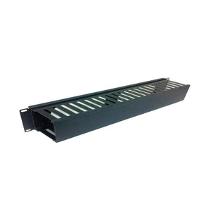 Quest HF19-01-050 1U Horizontal Cable Manager 19