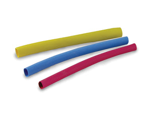 Gardner Bender HST-107 Asst Heat Shrink, 3 In., 1/8-1/2 In., Blue, Yellow, Red, (7/Pck)