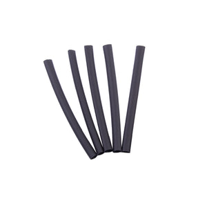 Gardner Bender Polyolefin Heat Shrink Tubing, 2:1 Shrink Ratio 1/4 in. (6.4 mm) Dia. to 1/8 in (3.8mm) Dia., 3 In. Long, Black, (5/Pkg), HST-250B