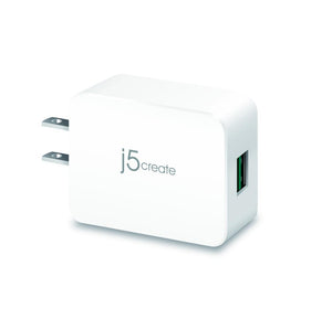 j5create JUP11 QC ™ 3.0 USB™ Charger - Faster Cahrger