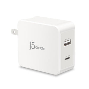 j5create JUP2230 2-Port PD Mobile Charger - Firefold