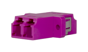 Techlogix Networx M4D-ADPT-LCLC Fiber optic coupler -- duplex multimode OM4 LC to LC coupler