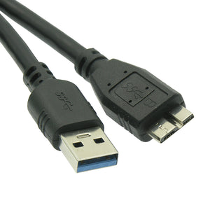USB 3.0 Type A to USB Micro-B (3-6ft)