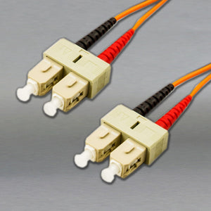DINSpace SC/SC Multimode (62.5/125) Duplex Fiber Patch Cable