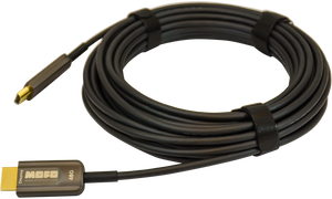 Techlogix Networx MOFO™ Media Over Fiber Optic cable -- 48G HDMI 2.1 -- Plenum Rated