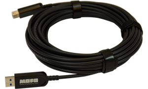 Techlogix Networx MOFO Media Over Fiber Optic cable -- USB 3.0 M to F -- Plenum Rated