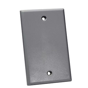 Quest Keystone Wall Plate, Single Gang - UL Listed