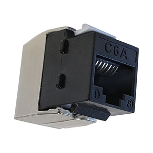 Quest Cat6A Utp 180 Degree Tooless Keystone Jacks, PoE++