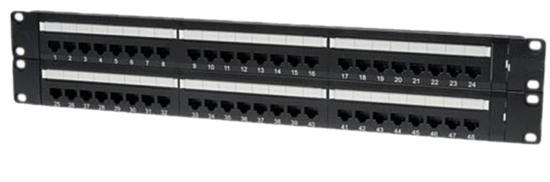 Nitrotel EngineerPro Cat6 Patch Panel110 IDC T568A/B (24-48 Ports)