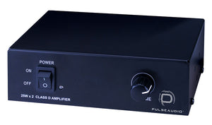 Pulse Audio PA2X25 2 Channel 50W, Class D Amplifier