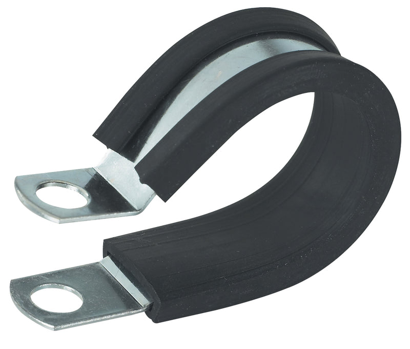 Gardner Bender 0.5 in. Rubber Insulated Clamp (2-Pack), PPR-1550