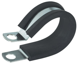 Gardner Bender 0.75 in. Rubber Insulated Clamp (2-Pack), PPR-1575