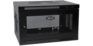Tripp-Lite SRW6U SmartRack 6U Low-Profile Switch-Depth Wall-Mount Rack Enclosure Cabinet