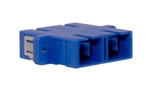 Techlogix Networx S2D-ADPT-SCSC Fiber optic coupler -- duplex single mode OS2 SC to SC coupler