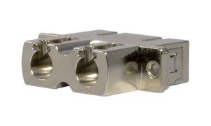 Techlogix Networx S2M4D-ADPT-LCSC Fiber optic coupler -- duplex LC to SC coupler -- compatible with single mode & multimode cable