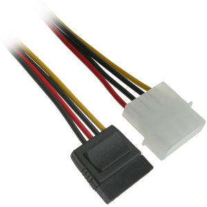 FireFold 6 Inch Serial ATA SATA Power Cable