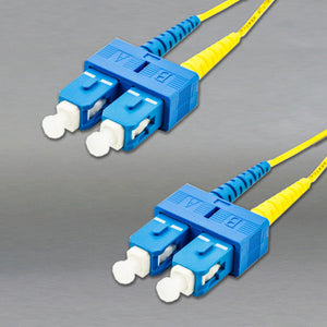 DINSpace SC/SC Singlemode (9/125) Duplex Fiber Patch Cable