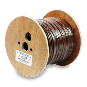 WaveNet 18/4 Thermostat Brown 500ft Length Cable, ETL