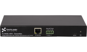 Techlogix Networx TL-SM3C-HDV Share-Me under-table switcher & receiver with 2 HDMI & 1 VGA inputs