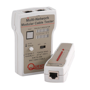 Quest Remote Lan/Coax Cable Tester