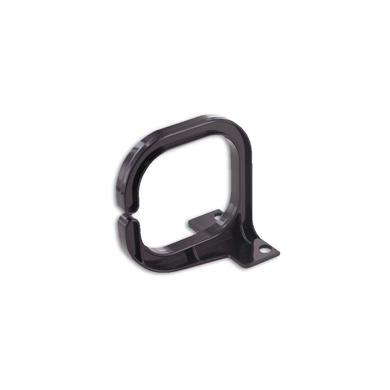 Quest Vertical D-Ring Cable Manager, 1U, Black