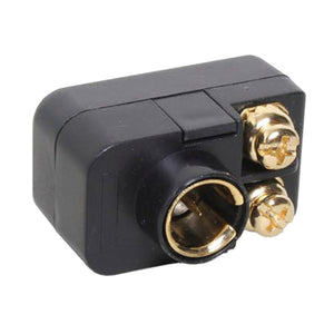 Quest Adapter, F To Screws, Gold Plated, 75-300 Ohm