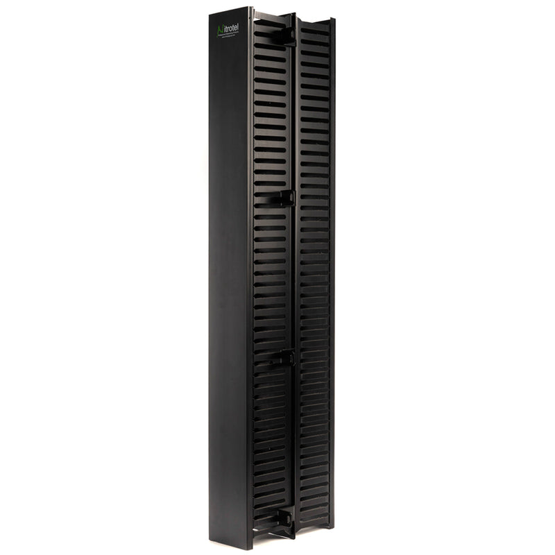"Nitrotel Double-Sided Vertical Cable Manager (35"")"