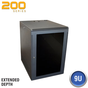 Quest Deep Wall Enclosure, Front/Side Access - 200 Series (21