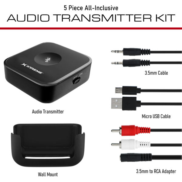 Xtreme Bluetooth Audio Transmitter Kit