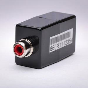 Composite RCA (Red) Audio over CAT5 Balun - Up to 1000ft Side View