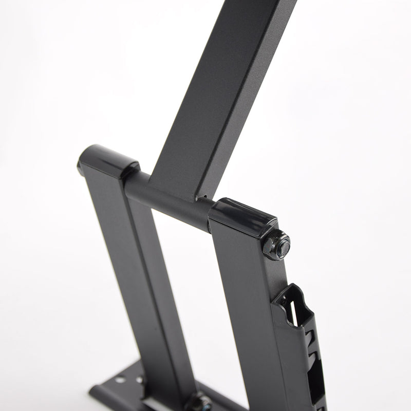 Rhino Brackets Articulating Curved and Flat Panel Single Stud TV Wall Mount for 32-55 Inch Screens