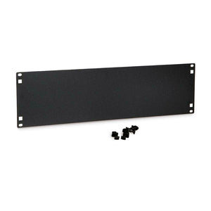 Kendall Howard 1901-1-101-03 3U Black Rack Mount Panel