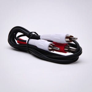 3ft 2 RCA Audio Cable - Male to Male Image 4