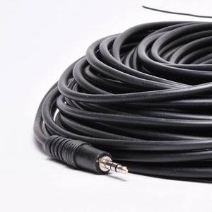 100ft 3.5mm Cable - Stereo Male to Female Image 3