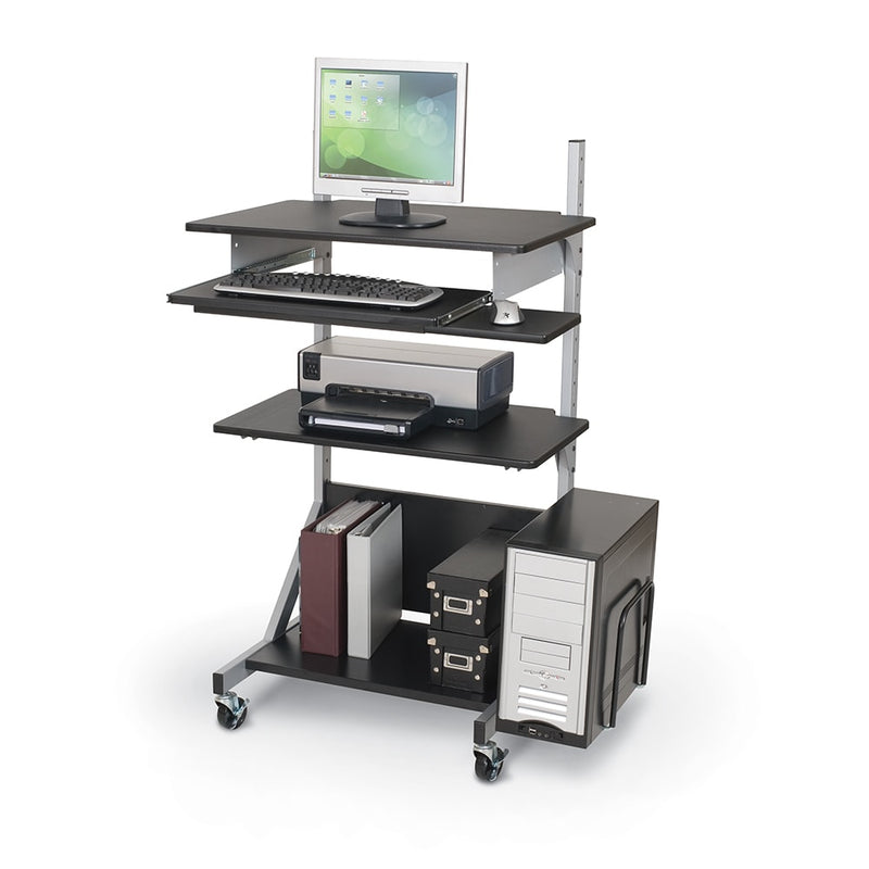MooreCo ALEKTO Compart Sit & Stand Workstation