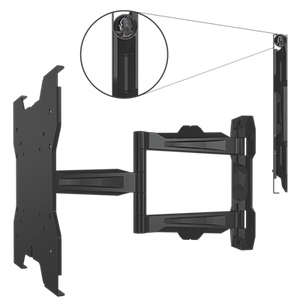 Crimson-AV AU42 World's Thinnest Articulating Mount for 13-46 Inch TVs