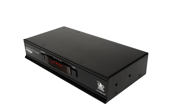 ADDER View 4 PRO DVI 4-port, Dual Link, USB