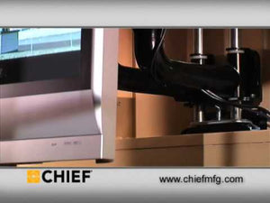Chief PIWRF2000B In-Wall Swing Arm Mount for 42-71 Inch Screens