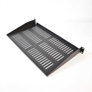 Quest 10.5 Inch 1 Unit (1U) Vented Cantilever Rack Shelf
