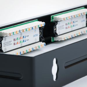 12 Port CAT5E Patch Panel with Bracket Image 5