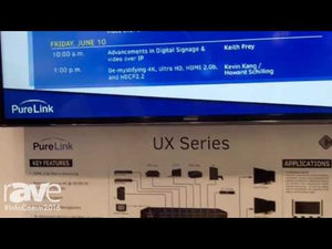 PureLink 4x4 4K HDMI Matrix Switcher with HDCP 2.2