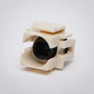 TOSLINK Keystone Jack - Recessed Female to Female Coupler