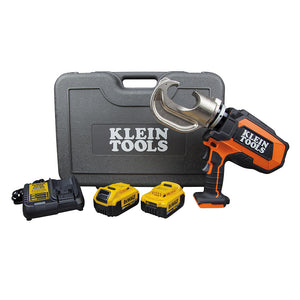 Klein Tools BAT20-12T1651 Battery-Operated 12-Ton Crimper Kit