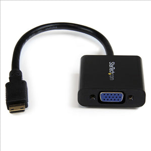 StarTech MNHD2VGAE2 Mini HDMI to VGA Converter for Digital Camera/Video Camera