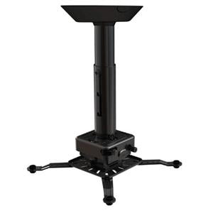 Crimson-AV JKR3-11A 6 to 11 Inch Projector Ceiling Mount with JR3 Universal Adapter (up to 70lbs)