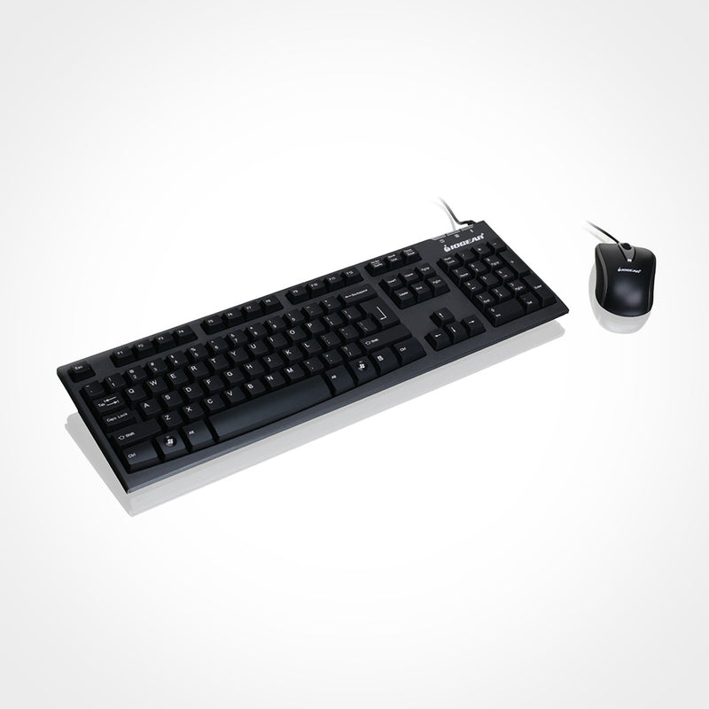 IOGEAR Spill-Resistant Keyboard and Mouse Combo