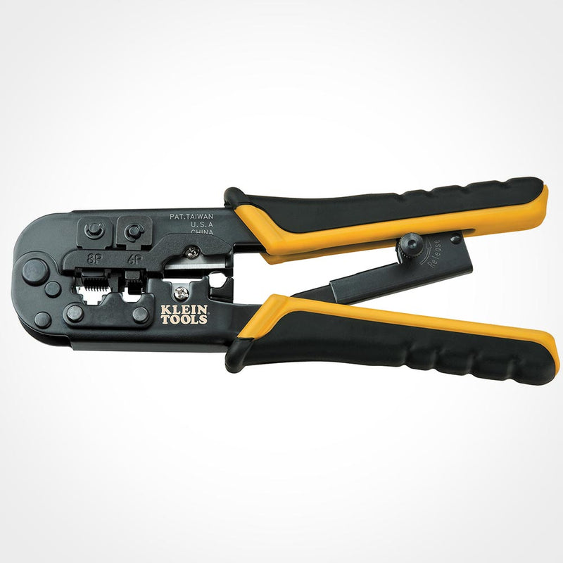 Klein Tools VDV226-011-SEN Ratcheting Modular Crimper/Stripper
