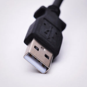 8in USB 2.0 to Micro USB Cable, Black Image 6