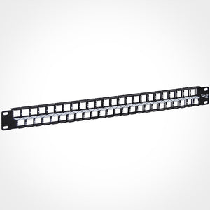 ICC 1U 48 Port High Density Blank Patch Panel