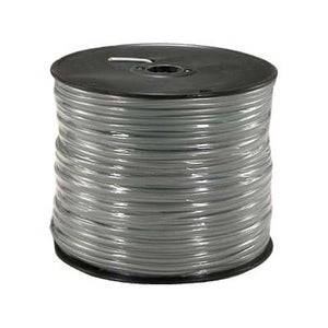 1000ft Bulk Silver Satin CAT3 Cable - 2 Pair